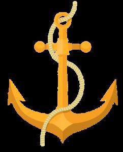 ilustração de uma âncora