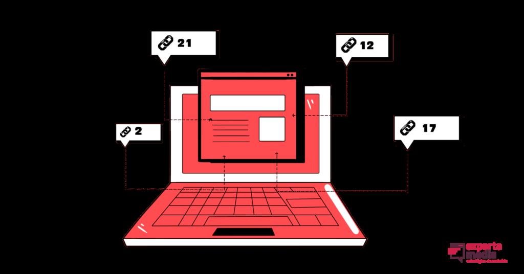 ilustração do que são backlinks