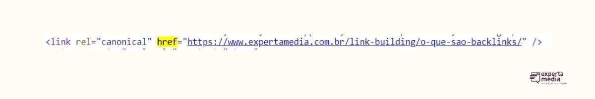código html de um link